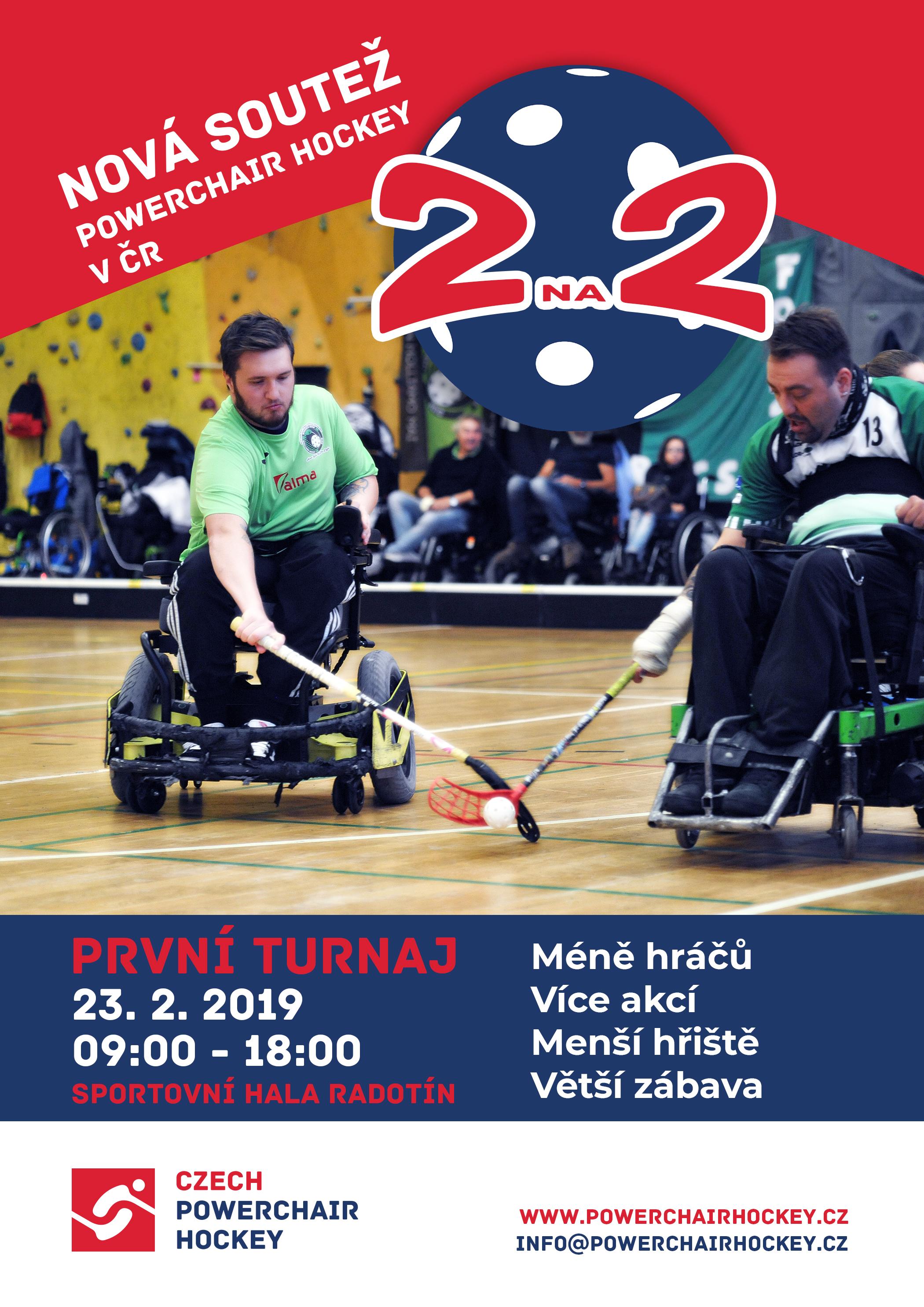 První turnaj 2na2 se blíží!