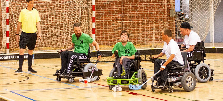 Otevíráme novou soutěž Powerchair Hockey: 2na2
