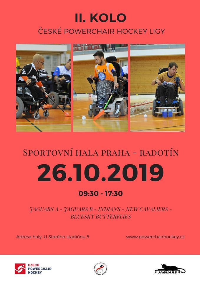 II. kolo České Powerchair Hockey ligy