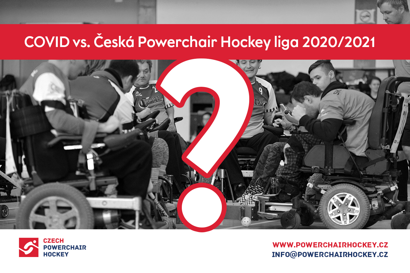 COVID vs. Česká Powerchair Hockey liga