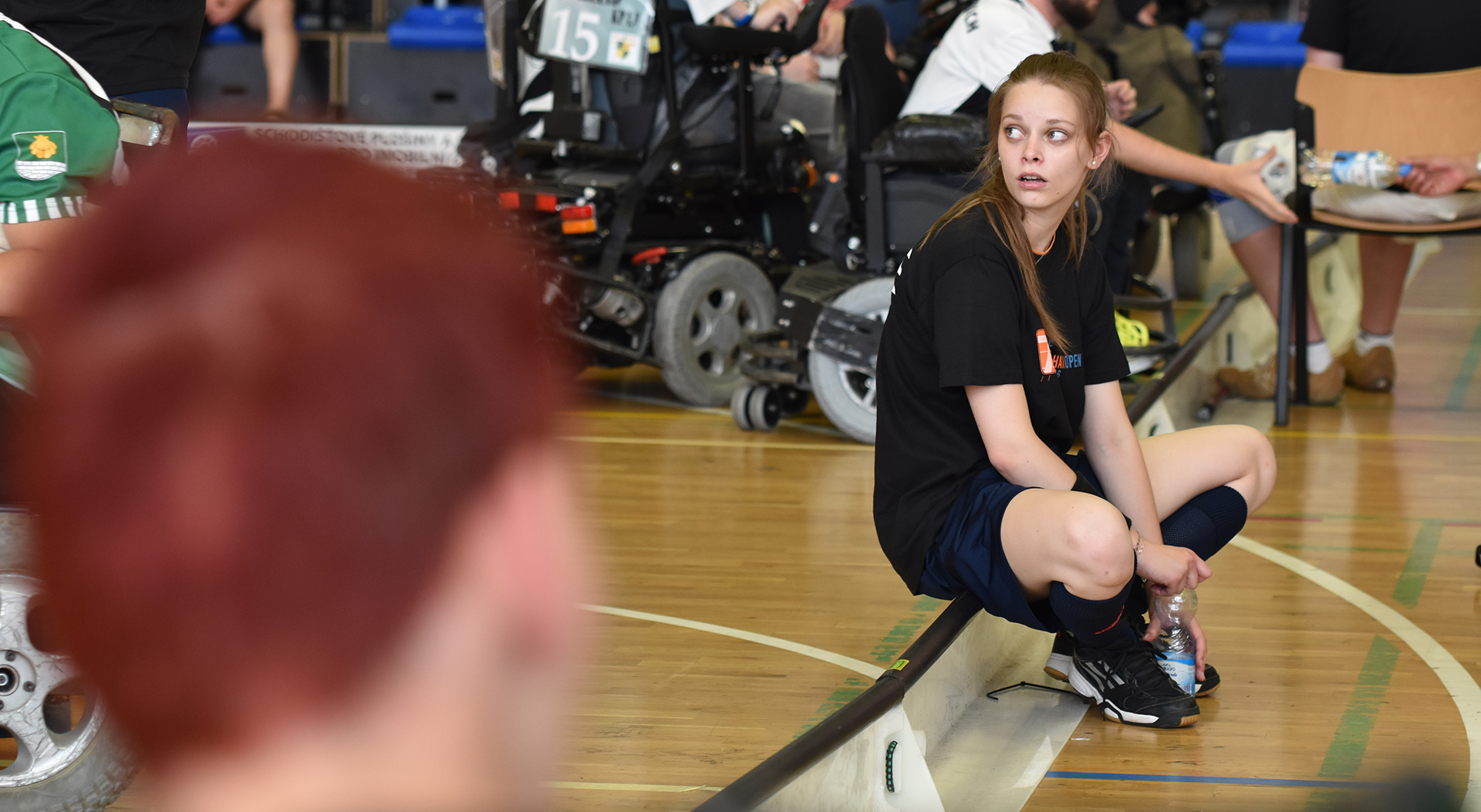 """Rozhodčí Tereza Košťálová: """"Powerchair Hockey je pro mě koníček a naučil mě spoustu věcí i do osobního života."""""""