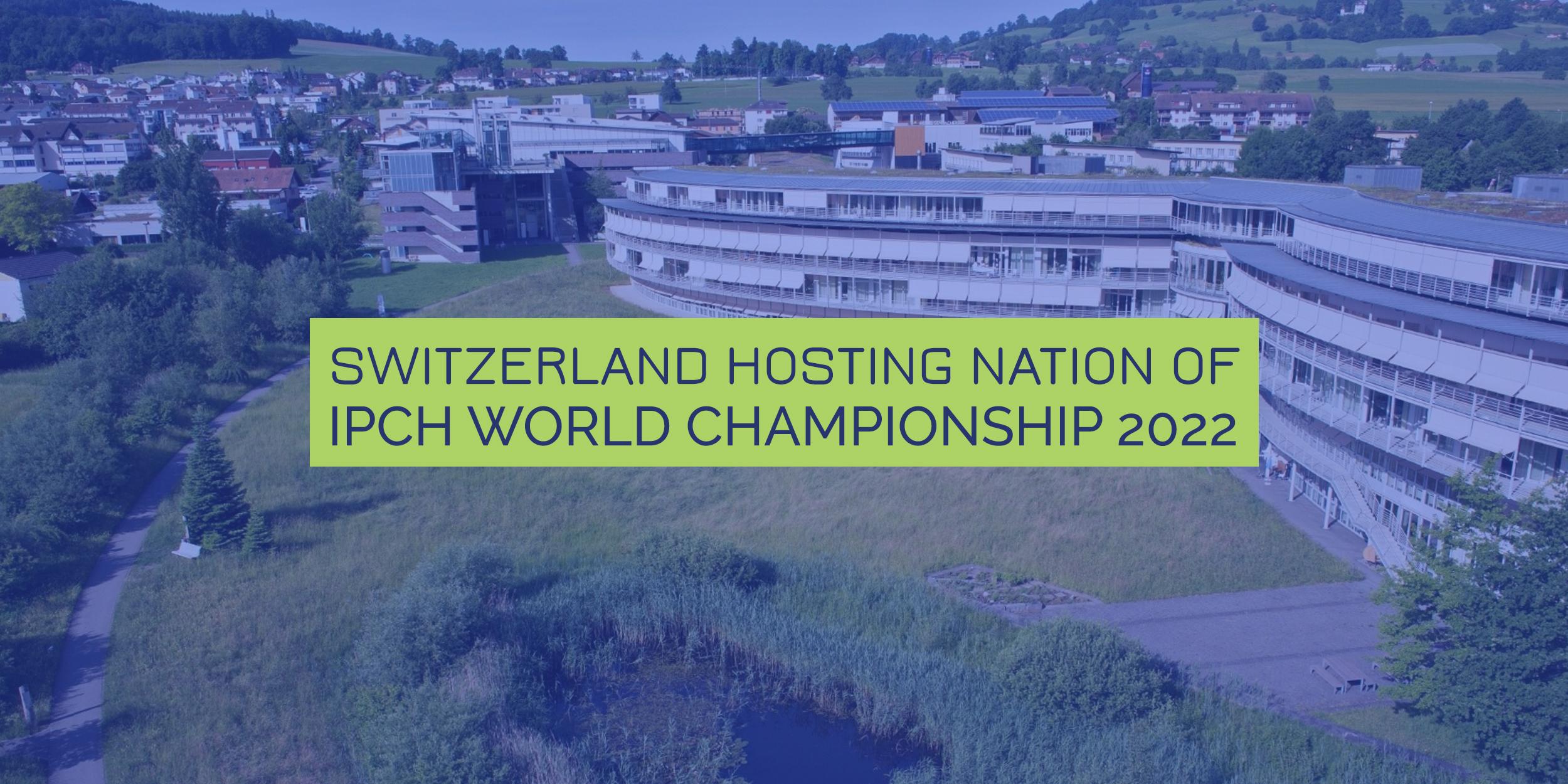 Švýcarsko bude hostit Mistrovství světa v Powerchair Hockey 2022.